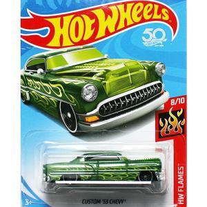 HotWheels Basic:1953 カスタム・シェビー (Custom Chevy)(グリーン)|grease-shop