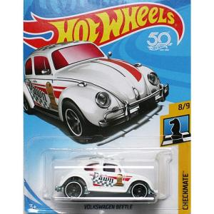 Hot Wheels Basic:フォルクスワーゲン・ビートル (Volkswagen Beetle)(ホワイト)|grease-shop