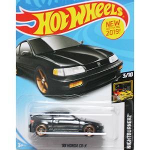 Hot Wheels Basic:1988 ホンダ・CR-X (Honda CR-X)(ブラック)|grease-shop