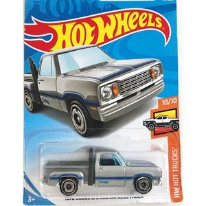 Hot Wheels Basic:1978 ダッジ・リトルレッド・エキスプレス・トラック (Dodge Li'l Red Express Truck)(シルバー/グレー)|grease-shop