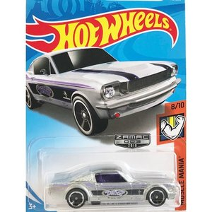 Hot Wheels Basic:1965 マスタング・2+2・ファストバック (Mustang 2+2 Fastback)(Zamac)|grease-shop