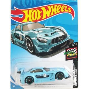 Hot Wheels Basic:2016 メルセデス・AMG GT3 (Mercedes AMG GT3)(ブルー/ブラック)|grease-shop