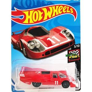 Hot Wheels Basic:ポルシェ・917 LH (Porsche 917 LH)(レッド/ホワイト)|grease-shop