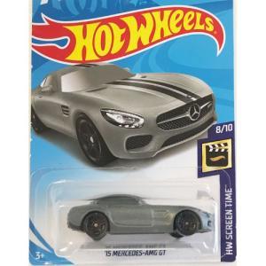 Hot Wheels Basic:2015 メルセデス・AMG GT(Mercedes-AMG GT/Fast & Furious)(グレー)