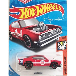 Hot Wheels Basic:キング・クーダ(King Kuda)(レッド)|grease-shop