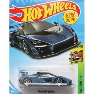 Hot Wheels Basic:マクラーレン・セナ (McLaren Senna)(ブルーグレー)|grease-shop
