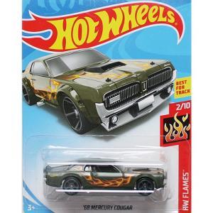 Hot Wheels Basic:1968 マーキュリー・クーガー (Mercury Cougar)(ダークグリーン)|grease-shop