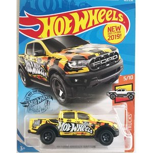 Hot Wheels Basic:2019・フォード・レンジャー・ラプター(2019 Ford Ranger Raptor)(イエロー)|grease-shop