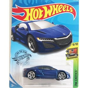 Hot Wheels Basic:2017・アキュラ・NSX(2017 Acura NSX)(ブルー)|grease-shop