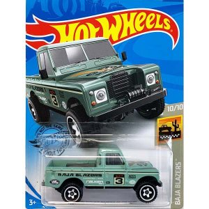 Hot Wheels Basic:ランドローバー・シリーズ III ピックアップ(Land Rover Series III Pickup)(グリーン)|grease-shop