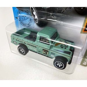 Hot Wheels Basic:ランドローバー・シリーズ III ピックアップ(Land Rover Series III Pickup)(グリーン)|grease-shop|02