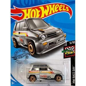 Hot Wheels Basic:1985 ホンダ・シティ・ターボ II('85 Honda City Turbo II)(シルバー)|grease-shop