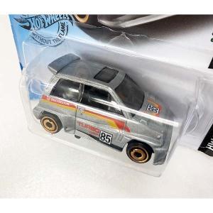 Hot Wheels Basic:1985 ホンダ・シティ・ターボ II('85 Honda City Turbo II)(シルバー)|grease-shop|02