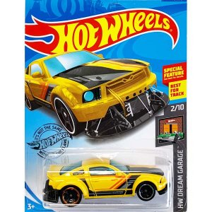 Hot Wheels Basic:2005 フォード・マスタング('05 Ford Mustang)(イエロー)|grease-shop