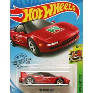 Hot Wheels Basic:1990 アキュラ・NSX(Acura NSX)(レッド)