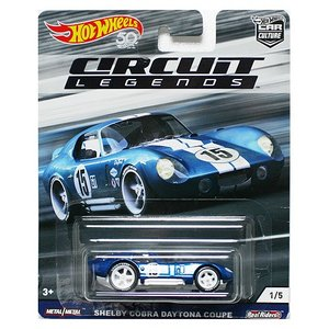 Hot Wheels Circuit Legends:Shelby Cobra Daytona Coupe (シェルビー・コブラ・デイトナ クーペ)(ブルー)|grease-shop