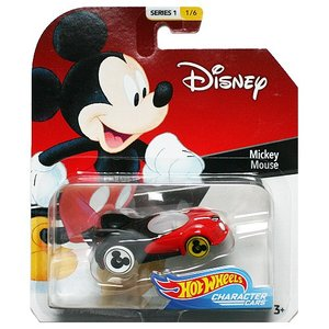 Hot Wheels Disney Character Cars:Mickey Mouse (ミッキーマウス)(レッド/ブラック)|grease-shop