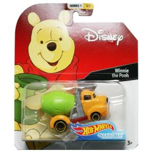 Hot Wheels Disney Character Cars:Winnie the Pooh (くまのプーさん)(イエロー/グリーン)|grease-shop