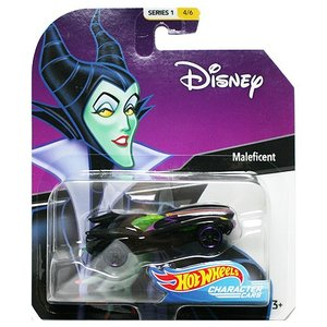 Hot Wheels Disney Character Cars:Maleficent (マレフィセント)(イエロー/グリーン)|grease-shop