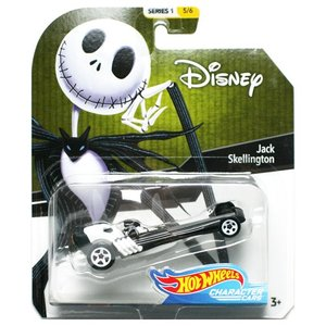 Hot Wheels Disney Character Cars:Jack Skellington (ジャック・スケリントン)(ブラック/ホワイト)|grease-shop