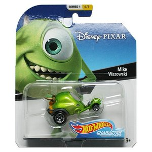 Hot Wheels Disney Character Cars:Mike Wazowski (マイク・ワゾウスキ)(グリーン)|grease-shop