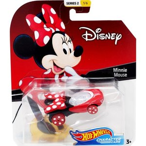 Hot Wheels Disney Character Cars:Minnie Mouse (ミニーマウス)(レッド/ブラック)|grease-shop