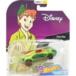 Hot Wheels Disney Character Cars:Peter Pan (ピーターパン)(グリーン/レッド)|grease-shop