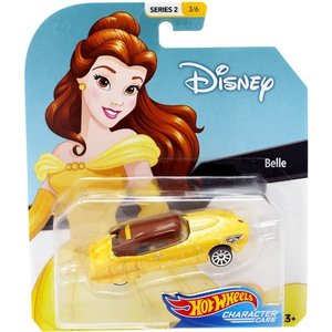 Hot Wheels Disney Character Cars:Belle (ベル/美女と野獣)(イエロー/ブラウン)|grease-shop