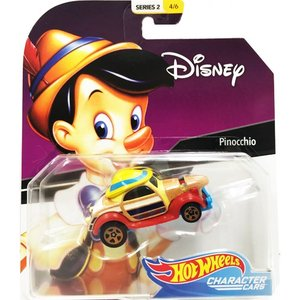 Hot Wheels Disney Character Cars:Pinocchio (ピノキオ)(レッド/イエロー/ベージュ)|grease-shop
