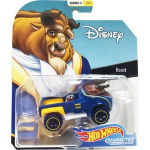 Hot Wheels Disney Character Cars:Beast (ビースト/美女と野獣)(ブルー/ブラウン)|grease-shop