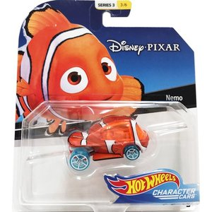 Hot Wheels Disney Character Cars:Nemo (ニモ)(オレンジ/ホワイト)|grease-shop