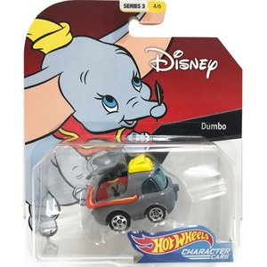 Hot Wheels Disney Character Cars:Dumbo (ダンボ)(グレー/イエロー)|grease-shop