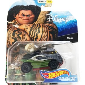 Hot Wheels Disney Character Cars:Maui (マウイ/モアナ)(グレー/グリーン)|grease-shop