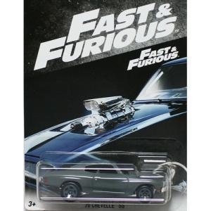 HotWheels Fast & Furious:1970 シェベル・SS (Chevlle SS)(グレー)|grease-shop
