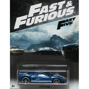 HotWheels Fast & Furious:フォード・GT40 (Ford GT40)(ブルー)|grease-shop