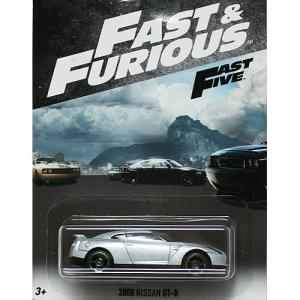 HotWheels Fast & Furious:2009 ニッサン・GT-R (Nissan GT-R)(シルバー)|grease-shop