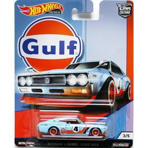 Hot Wheels Gulf Racing:Nissan Laurel 2000 SGX (ニッサン・ローレル 2000 SGX)(ブルー/オレンジ)|grease-shop