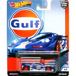 Hot Wheels Gulf Racing:McLaren F1 GTR (マクラーレン・F1 GTR)(ブルー/ホワイト)|grease-shop