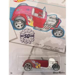 Hot Wheels Larry Wood 50th:ストリート・ロッダー (Street Rodder)(レッド)|grease-shop