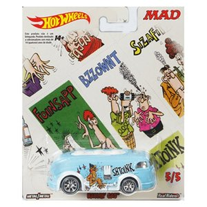 Hot Wheels Mad Magazine:ホーリン・ガス(Haulin' Gas/Sound Effect Sticker)(ブルー)|grease-shop