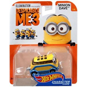 Hot Wheels Despicable ME3 2017:ミニオン・デイブ(Minion Dave)|grease-shop