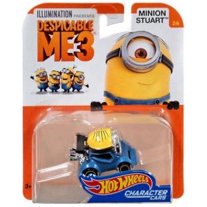 Hot Wheels Despicable ME3 2017:ミニオン・スチュアート(Minion Stuart)|grease-shop|01