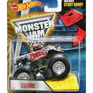 Hot Wheels Monster Jam 1/64:Zombie (ゾンビ)(ホワイト)|grease-shop