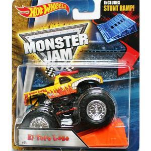 Hot Wheels Monster Jam 1/64:El Toro Loco (エル・トロ・ロコ)(イエロー)|grease-shop