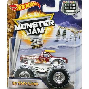 Hot Wheels Monster Jam 1/64:El Toro Loco (エル・トロ・ロコ)(ブラウン/ホワイト)|grease-shop