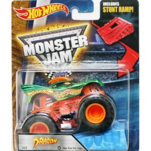 Hot Wheels Monster Jam 1/64:Dragon (ドラゴン)(グリーン/オレンジ)|grease-shop