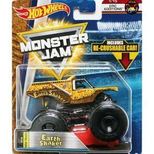 Hot Wheels Monster Jam 1/64:Earth Shaker (アース・シェーカー)(イエロー)|grease-shop
