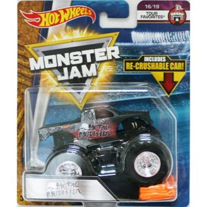 Hot Wheels Monster Jam 1/64:Metal Mulisha (メタル・マリーシャ)(ブラック)|grease-shop