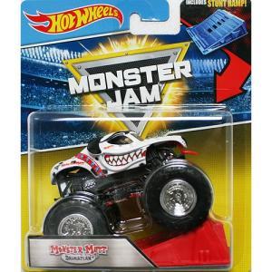 Hot Wheels Monster Jam 1/64:Monster Mutt Dalmatian (モンスター・マット-ダルメシアン)(ホワイト)|grease-shop