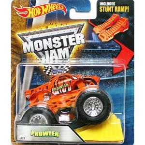 Hot Wheels Monster Jam 1/64:Prowler (プラウラー)(オレンジ)|grease-shop